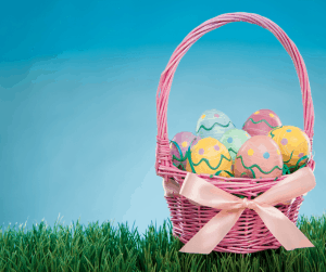 traditional easter basket