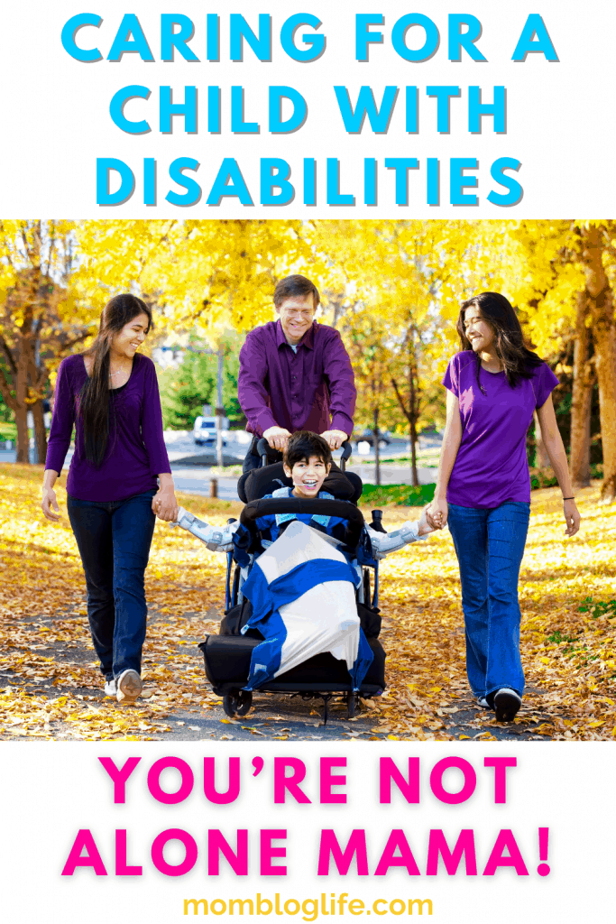 caring for a child with disabilities