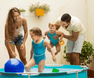 outdoor activities for kids pool