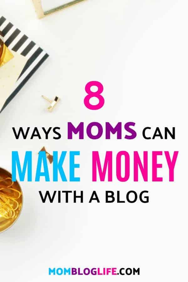 make money with a mom blog
