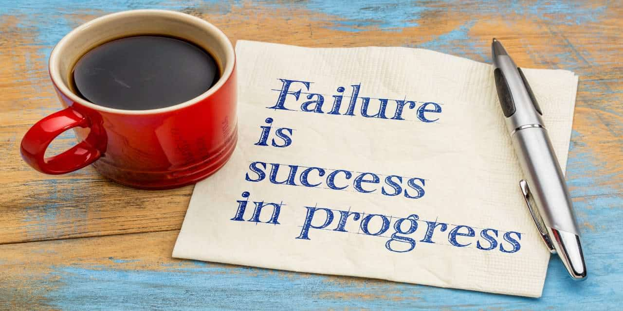 Overcome the fear of failing at blogging