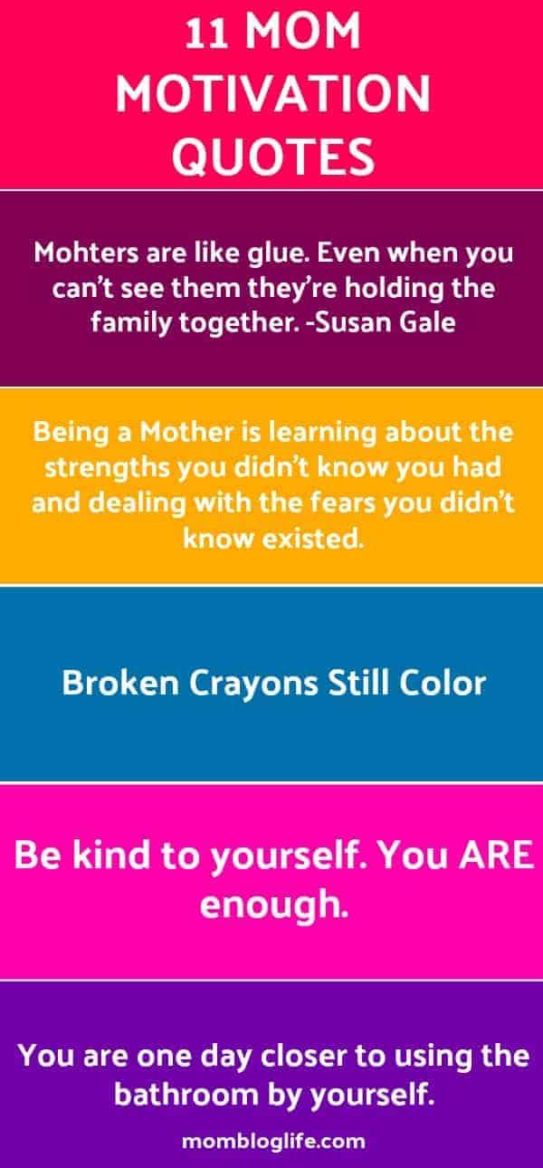 Mom Motivation Quotes Mom Blog Life