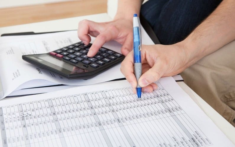 Create a realistic budget to understand where you money is being spent