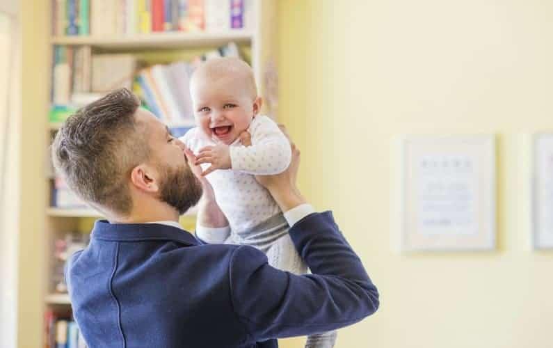 Dad and baby bonding activities