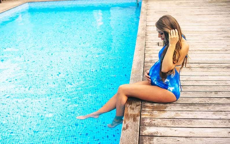 Advice for staying cool during the summer when you're pregnant