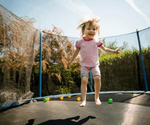 outdoor activities for kids trampoline