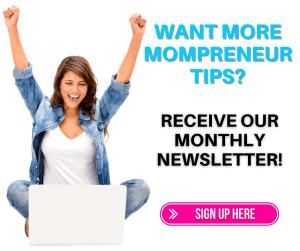 mompreneur tips opt in